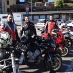 Giro veloce a Peschiera: i 3 moschettieri.