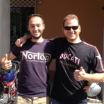 Norton vs Ducati.
