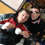 Girongo 2014: la colazione del campione!