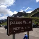 Arrivo a passo Valles.