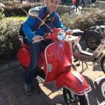 Fiera S.Simone: il Figliolo con la sua Vespa!
