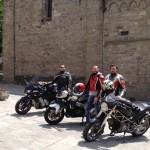 Rolesi in gita sull'Appennino fra Parma e Piacenza.