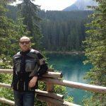 Paolo al lago di Carezza.